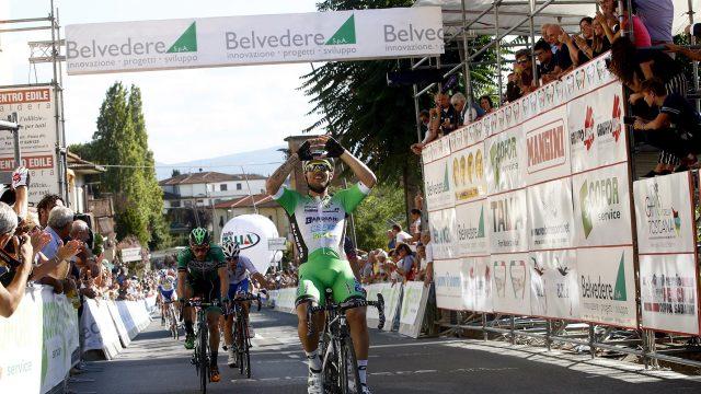 Coppa Sabatini 2016 - Peccioli - Peccioli 195,8 km - 22/09/2016 - Sonny Colbrelli (Bardiani - CSF) - foto Luca Bettini/BettiniPhoto©2016