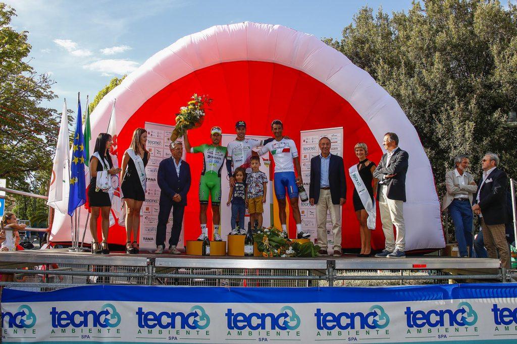 Giro della Toscana 2016 - Memorial Alfredo Martini - 1a tappa Arezzo - Montecatini Terme 174 km - 20/09/2016 - Giovanni Visconti (Movistar) - Sonny Colbrelli (Bardiani - CSF) - Daniele Bennati (Italia) - foto Luca Bettini/BettiniPhoto©2016